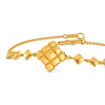 Quilt Quests Gold Bracelets