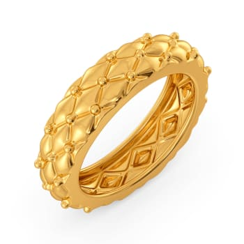 Cozy Weaves Gold Rings