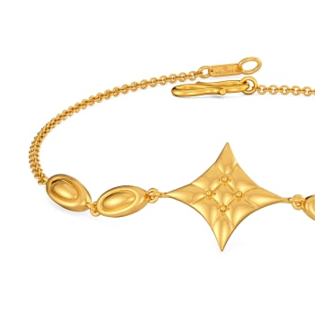 Quilt Abode Gold Bracelets