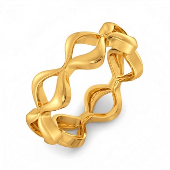 Warm N Comfy Gold Rings