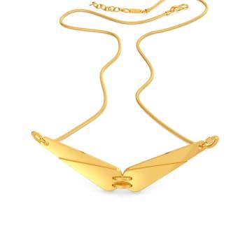 Safari Sleek Gold Necklaces