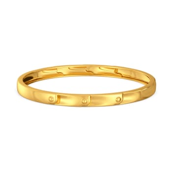 Thrill of Hills Gold Bangles