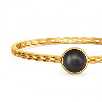 All Over Black Gemstone Bangles