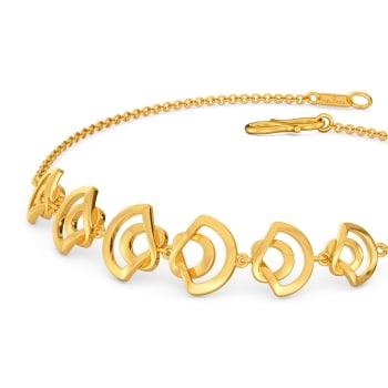 Short N Urbane Gold Bracelets