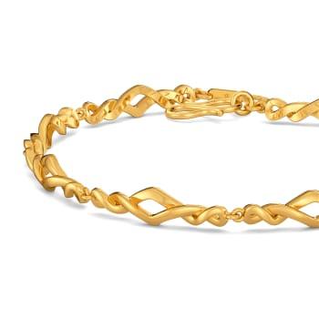 Short N Sophisticated Gold Bracelets