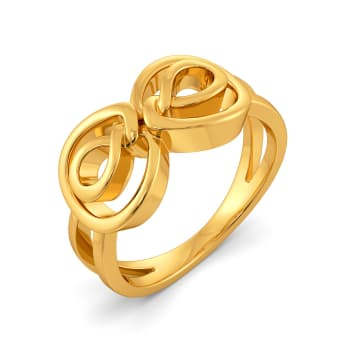 Work Redefined Gold Rings