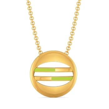 Lime Limerick Gold Pendants