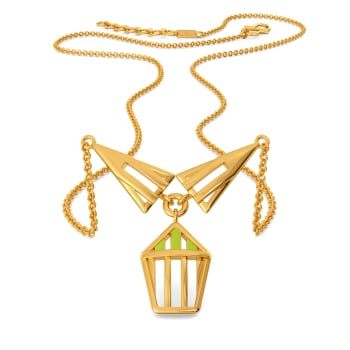 Bold Neon Gold Necklaces