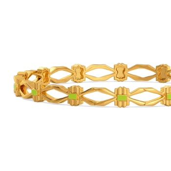Bold Neon Gold Bangles