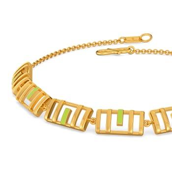 Colour Me Neon Gold Bracelets