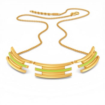 Neon or Nothing Gold Necklaces