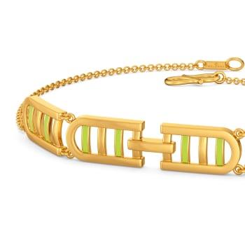 Sassy Neon Gold Bracelets