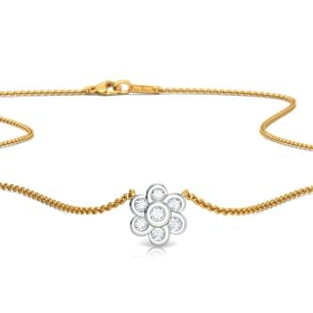 Topsy Curvy Diamond Necklaces