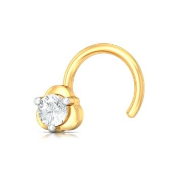 Trifecta Diamond Nose Pins