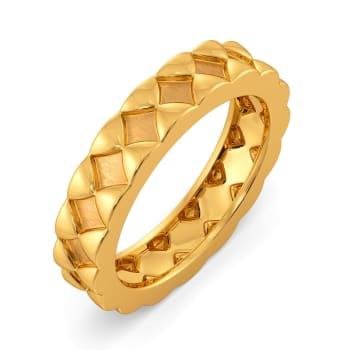 Sleek N Satin Gold Rings