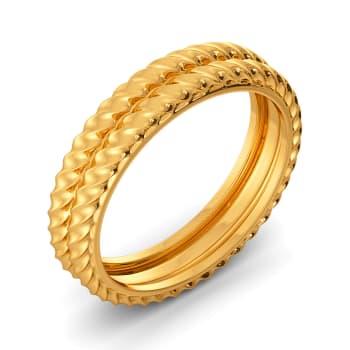 Brace N Bind Gold Rings