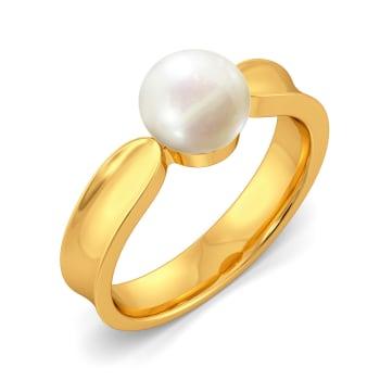 Dangle Dot Gemstone Rings