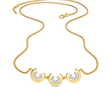 Cling Bling Diamond Necklaces