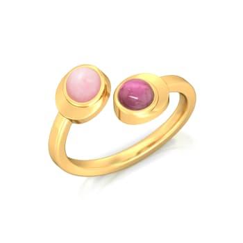 Pink Panther Gemstone Rings