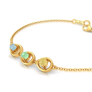Hello Cakesicles Gemstone Bracelets