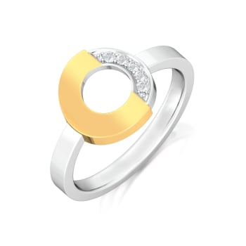 Tubular Slice Diamond Rings