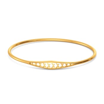 The Tweed Meet Gold Bangles