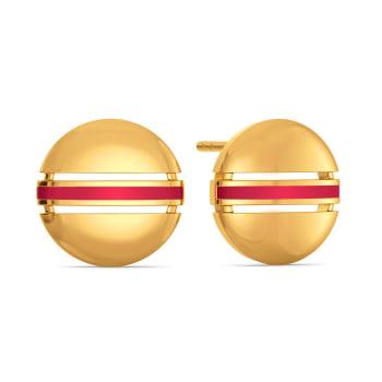 Play it Preppy  Gold Earrings
