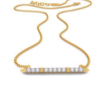 Fine Line Diamond Necklaces