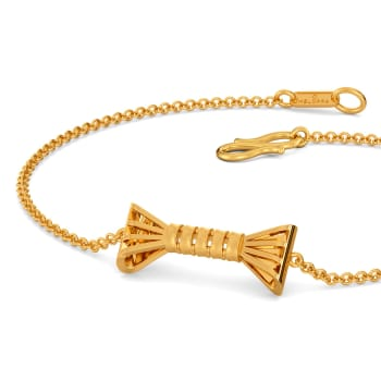 Beat of the Bow Gold Bracelets