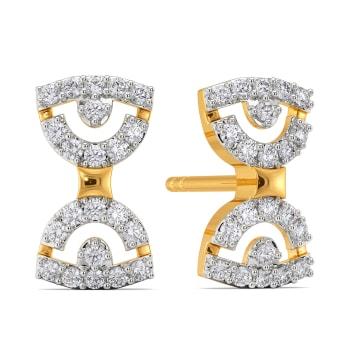 The Bow Club Diamond Earrings