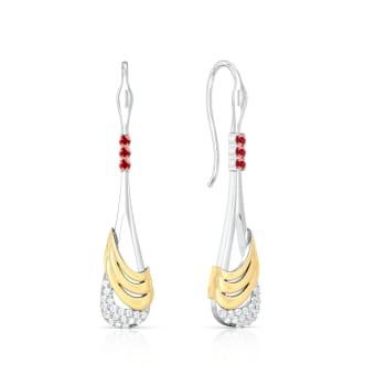 Swinging Times Diamond Earrings