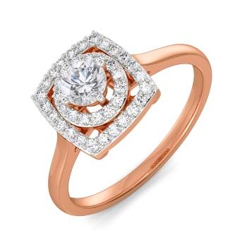 Care to Square Diamond Rings