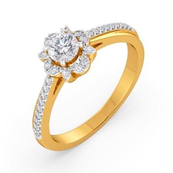 Floret Ornate Diamond Rings