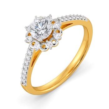 Bud Beloved Diamond Rings