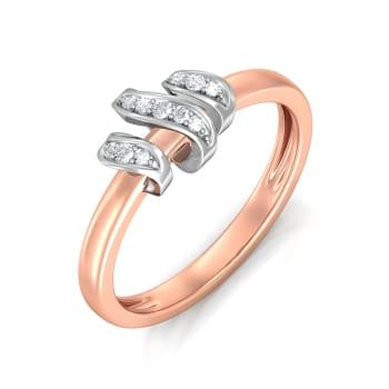 Loopy Loop Diamond Rings