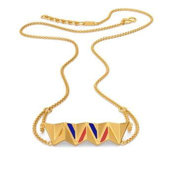 Peppy Prep Gold Necklaces