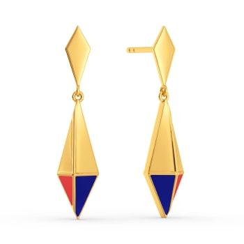 Preppy Revived Gold Earrings