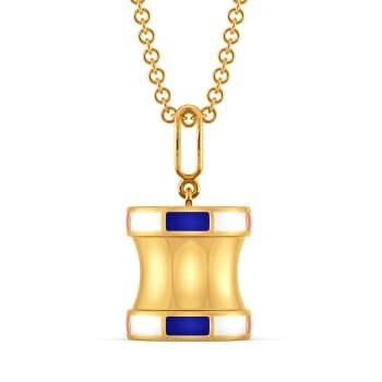 Penchant for Prep Gold Pendants