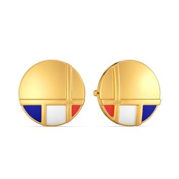 A Prep Step Gold Earrings