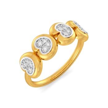 Rose Baroque Diamond Rings