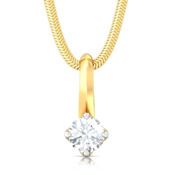 Ice, Ice Baby Diamond Pendants