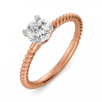 A Twirl Tale Diamond Rings