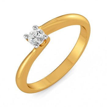 Solitaire Seal Diamond Rings