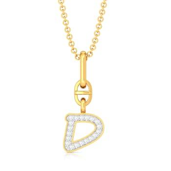 Dudette Dreams  Diamond Pendants