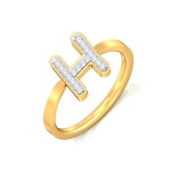 High on Hip Diamond Rings