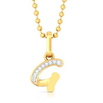 Gangsta Gal Diamond Pendants