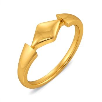 Dapper Dance Gold Rings