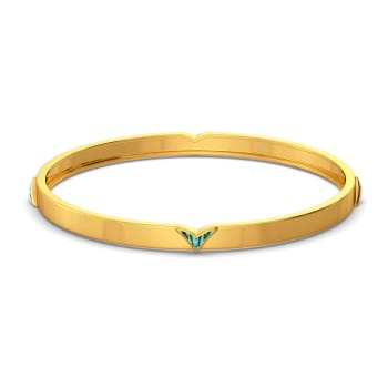 Ombre Out Gold Bangles