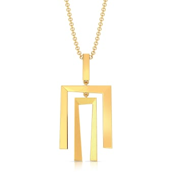 Out of the box Gold Pendants