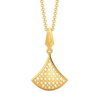 Totally Tulle Gold Pendants
